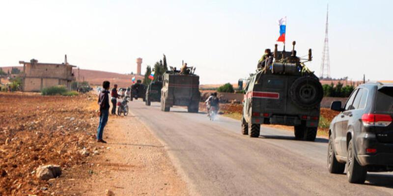 Son dakika... Ruslardan Türkiye-Suriye sınırında yeni devriye