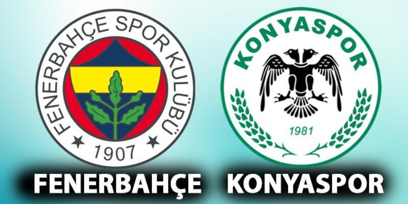 Fenerbahçe Konyaspor maçı ne zaman? FB - Konya maçı saat kaçta izlenecek?