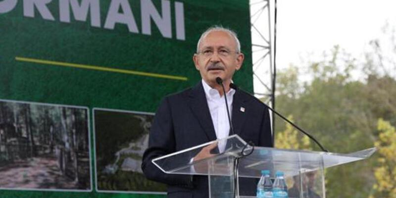 Kılıçdaroğlu, Kemerburgaz Kent Ormanı açılışında konuştu