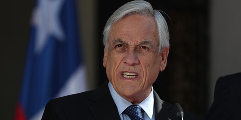 Şili Devlet Başkanı Pinera kabinenin istifasını istedi