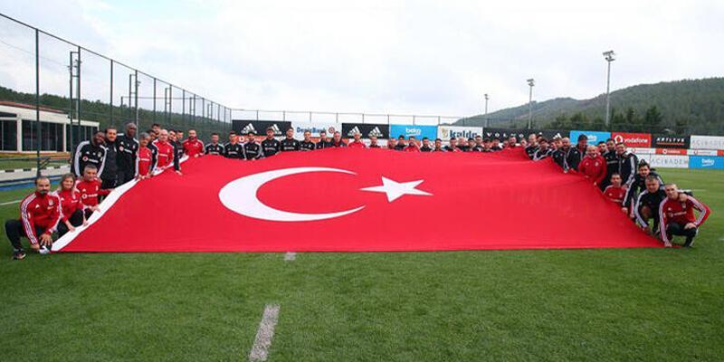 Beşiktaş'ta Cumhuriyet Bayramı coşkusu