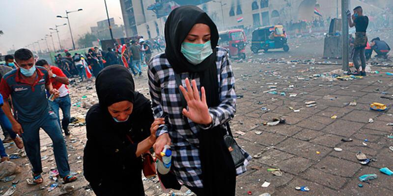 Son dakika... Kerbela'da polis göstericilere ateş açtı: 18 ölü, 800'den fazla yaralı