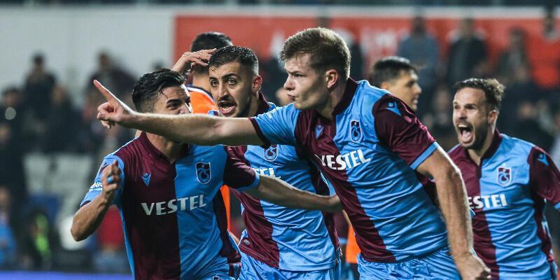 Sörloth atıyor Trabzonspor kaybetmiyor