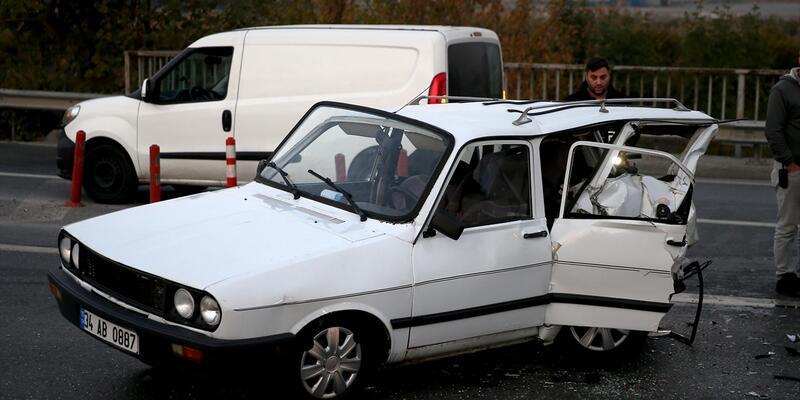 Bahçelievler'de trafik kazası: 1 yaralı