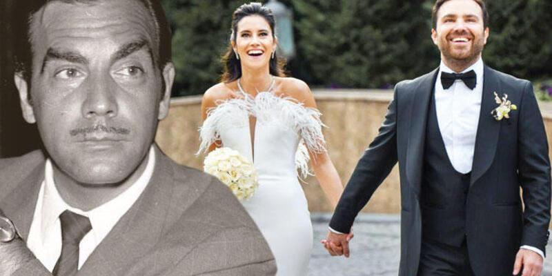 Ayhan Işık'ın torunu evlendi!