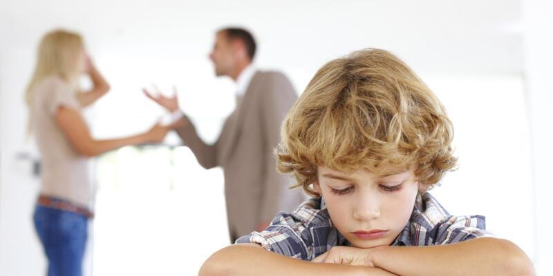 Evdeki tartışmalar çocukları ertkiliyor