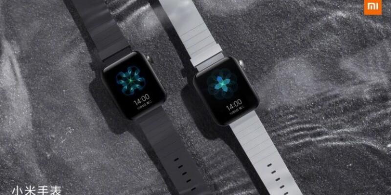 İşte tasarımıyla Apple Watch'ı andıran Mi Watch