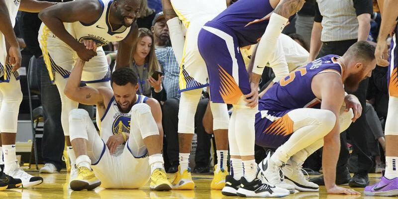Stephen Curry'nin bileği kırıldı