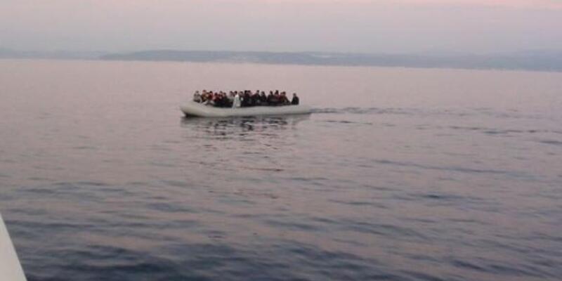 Seferihisar ve Çeşme'de 95 kaçak göçmen yakalandı