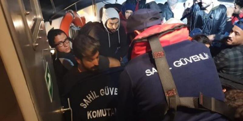 37 kaçak göçmen ile 2 organizatör yakalandı