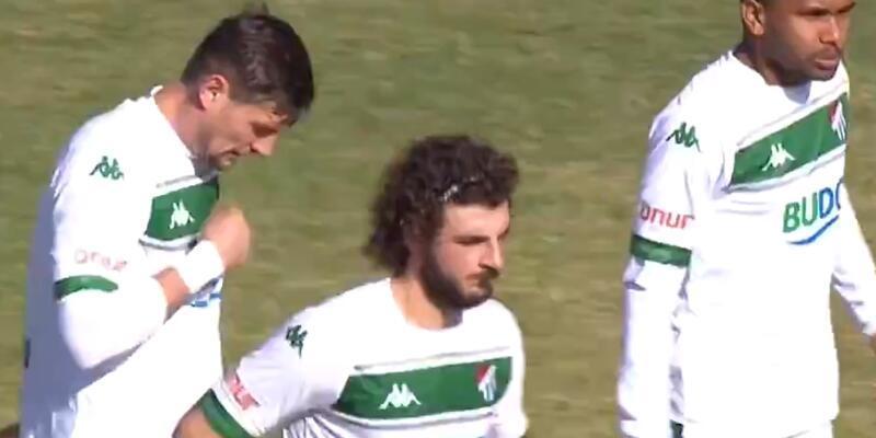 Bursaspor 2 golle tur atladı