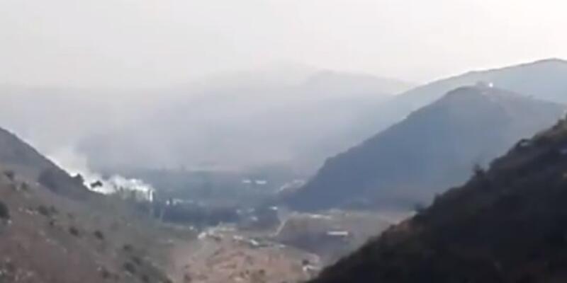 Son dakika... Lübnan'da İsrail'e ait drone düşürüldü