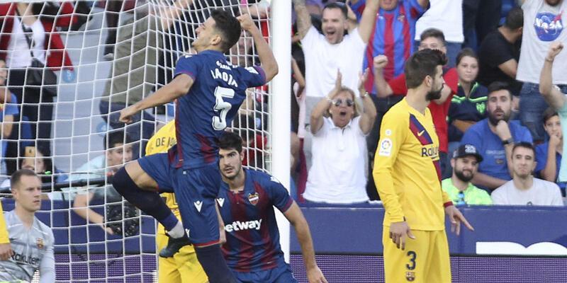 Levante-Barcelona: 3-1