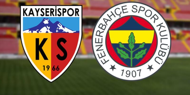 Kayserispor Fenerbahçe maçı ne zaman, saat kaçta, canlı izlenecek?