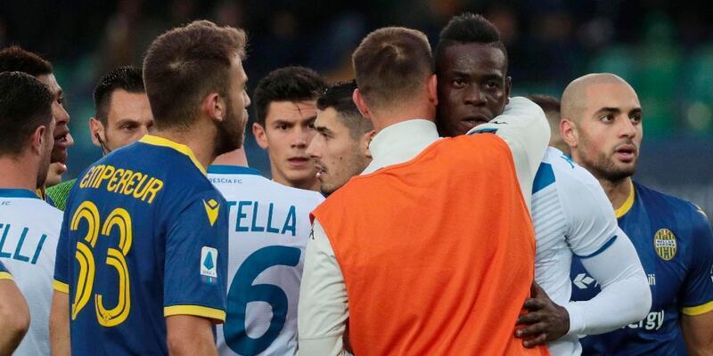 Mario Balotelli'ye ırkçı saldırı