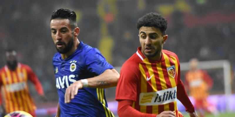Kayserispor 1-0 Fenerbahçe MAÇ ÖZETİ