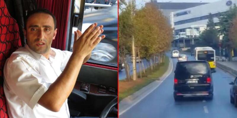 İstanbul'da nefes kesen kovalamaca! Otobüs şoförü yaşananları anlattı