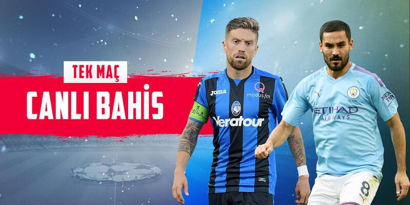 Atalanta-City maçına Misli.com'da CANLI OYNA!