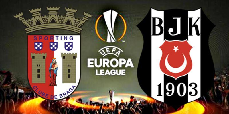 Braga Beşiktaş maçı ne zaman, BJK UEFA maçı saat kaçta, hangi kanalda?