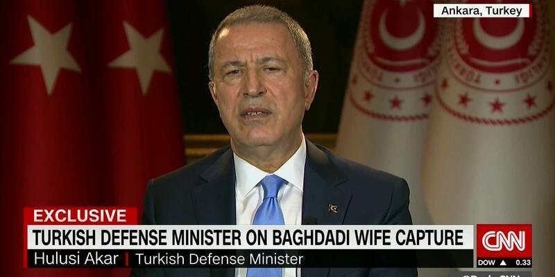 Bakan Akar CNN'de açıklamalarda bulundu