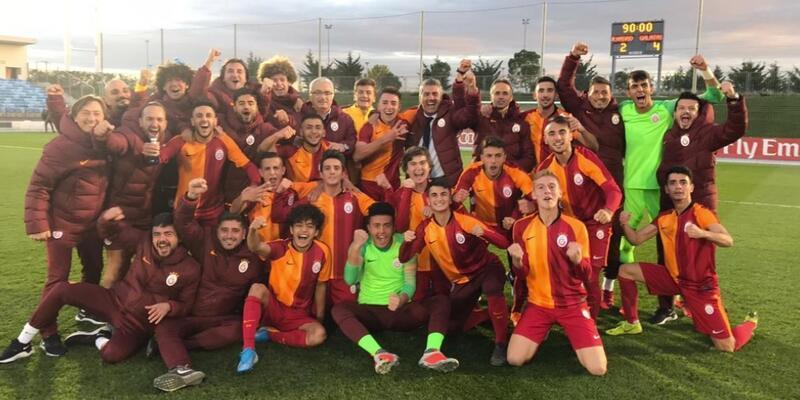 Galatasaray'dan Real Madrid'e 4 gol