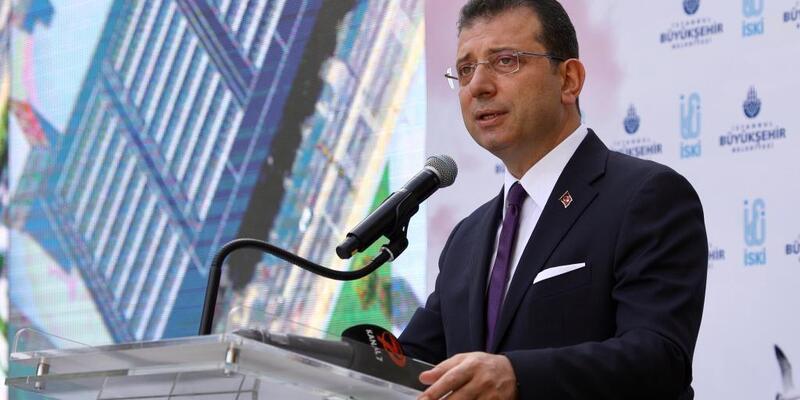 """İBB Başkanı İmamoğlu, """"Temel atmama"""" töreninde konuştu"""