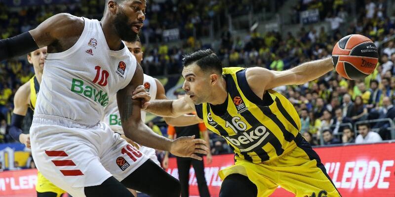 Fenerbahçe'den Bayern Münih'e 8 sayı fark