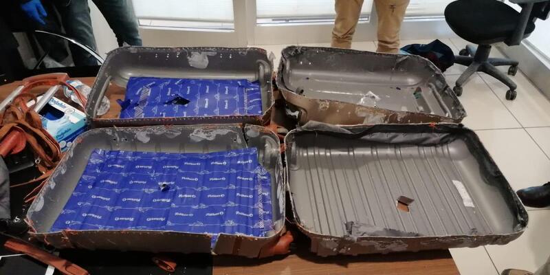 İranlı turistin bavulunda uyuşturucu bulundu