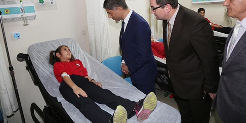 Ordu'da 13 öğrenci zehirlenme şüphesiyle hastaneye kaldırıldı