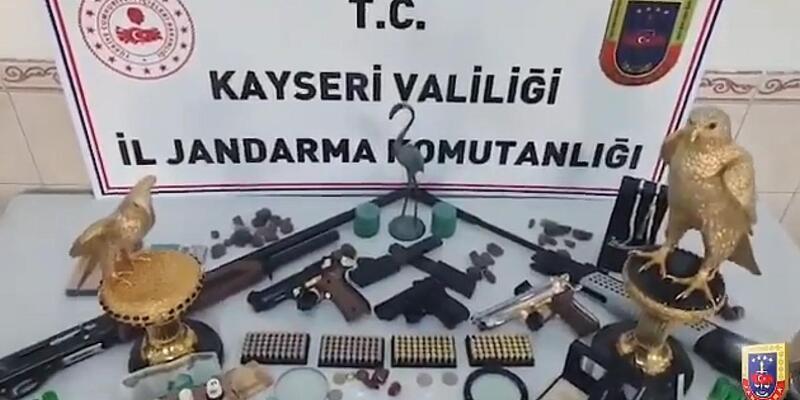 Kayseri'de 'elmas' operasyonu: Gözaltılar var