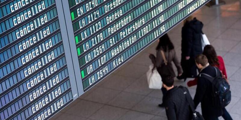 Dev hava yolu şirketinde grev! Uçuşlar iptal edildi