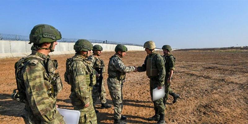 Son dakika... Fırat'ın doğusunda Rusya ile altıncı ortak kara devriyesi tamamlandı