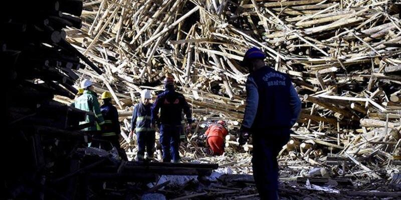 Çöken iskelenin altında kalan mühendisten 33 saat sonra acı haber geldi