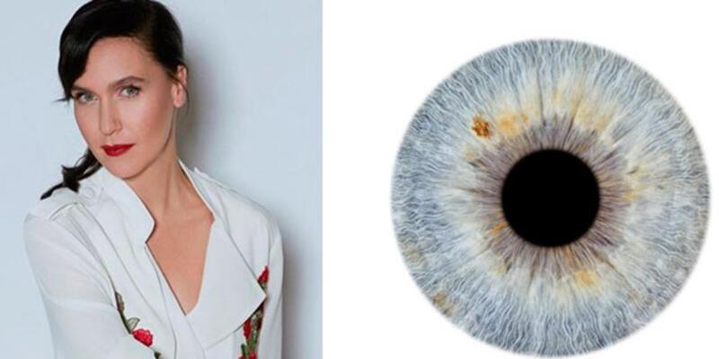 Parmak izinin rakibi gözün iris tabakası fotoğrafla sanata dönüşüyor