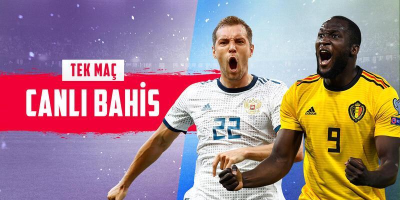 Rusya-Belçika maçı CANLI BAHİS seçeneğiyle Misli.com'da!