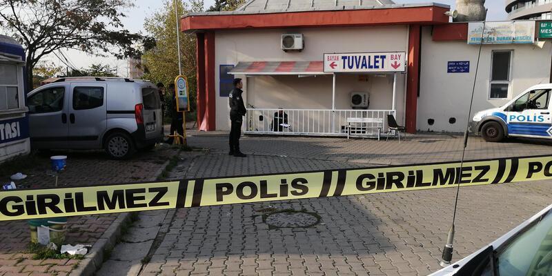 Ataköy'de tuvalette bir kişinin cesedi bulundu