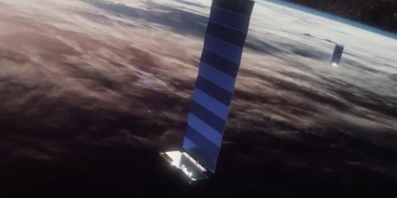 SpaceX yörüngeye 60 uydu daha göndererek yeni projesini hızlandırdı