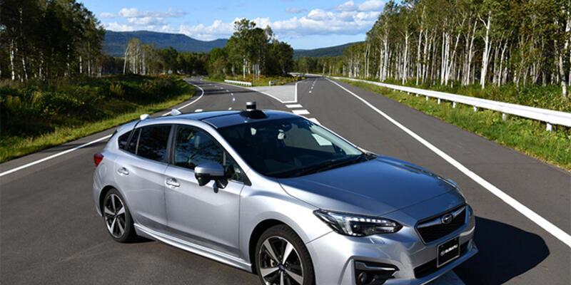 Subaru da otonom sürüşte
