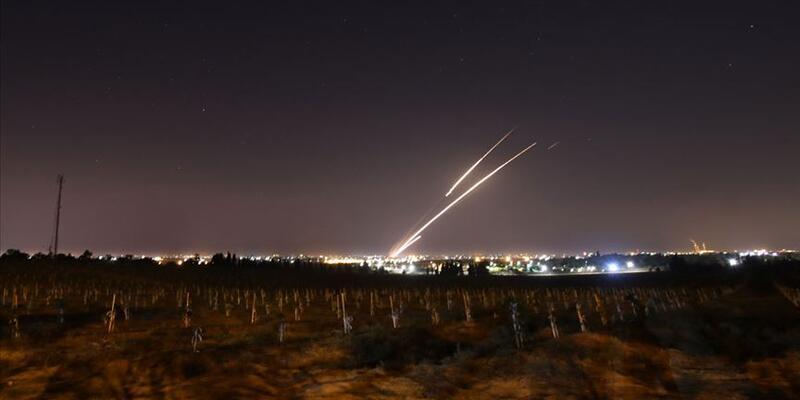 Suriye'den İsrail'e roketli saldırı