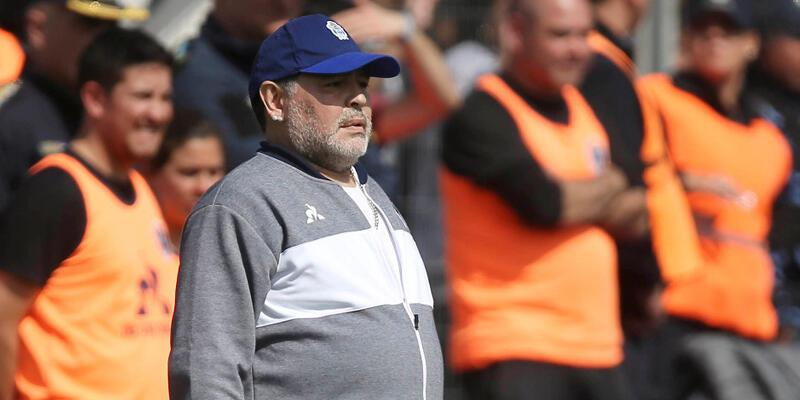 Maradona'nın Gimnasia serüveni 8 maç sürdü