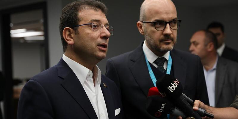 İmamoğlu İstanbul Havalimanı yöneticileriyle bir araya geldi