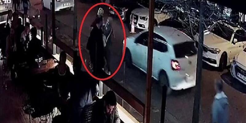 Beşiktaş'ta kafe önünde öğretmen kadına saldıran kadın yakalandı