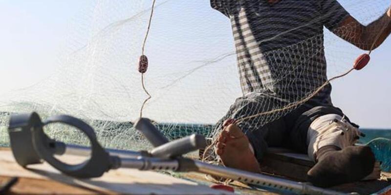 Balıkçı ağlarına takıldı! Tedavisi yapılıp doğal ortamına bırakıldı