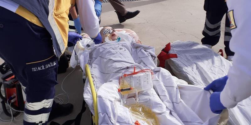 Minik Sıla tedavi için Ankara'ya gönderildi