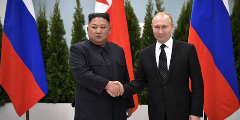 """Kuzey Kore ve Rusya """"stratejik diyaloğu güçlendirme"""" kararı aldı"""