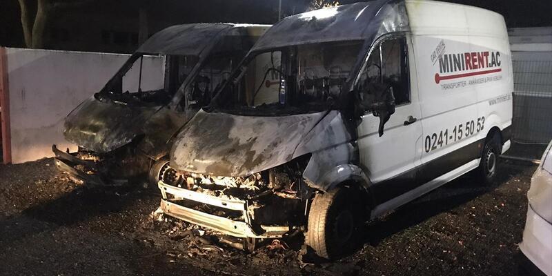 Almanya'da Türk iş adamına ait araçlar kundaklandı