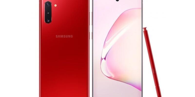 Samsung Galaxy Note 10 yeni renklere kavuştu