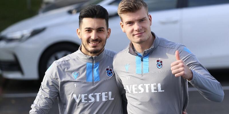 Trabzonspor'un Ankaragücü kadrosu