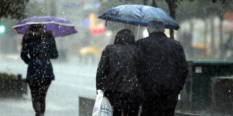 Meteoroloji'den son dakika hava durumu ve sağanak yağış uyarısı geldi!
