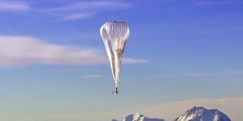 Google balonları ile düşük maliyetli internet